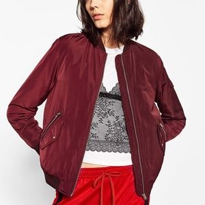 Zara Trafaluc Outerwear Bomber Jacket